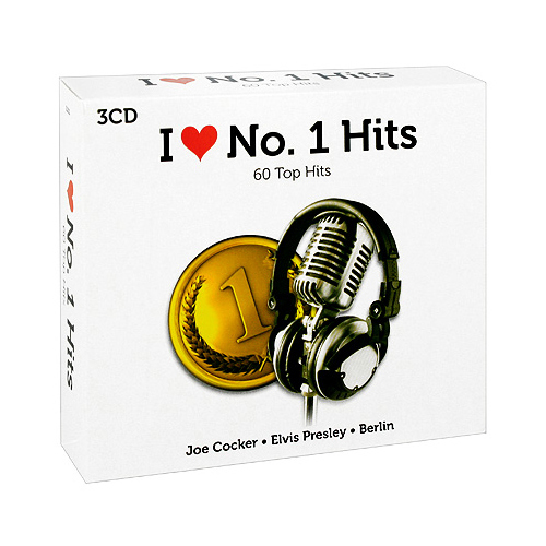 I Love No 1 Hits (3 CD) Серия: I Love инфо 4786l.